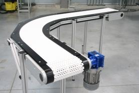 Convoyeurs à bande modulaire