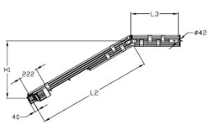 Convoyeurs incliné type 2 elcom