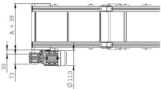 Convoyeurs incliné type 1 elcom