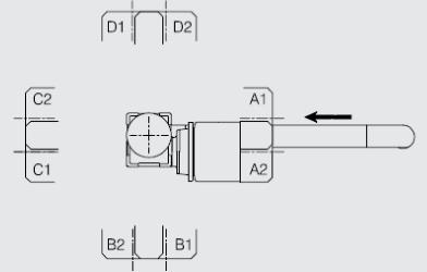 entraînement en extrémité convoyeur elcom