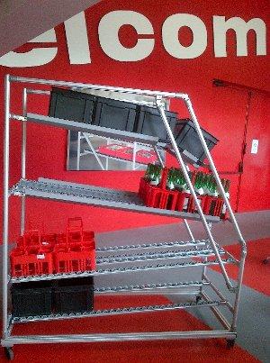 Lexique lean : Rack d'approvisionnement