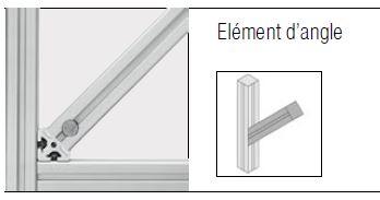 éléments d'angle elcom