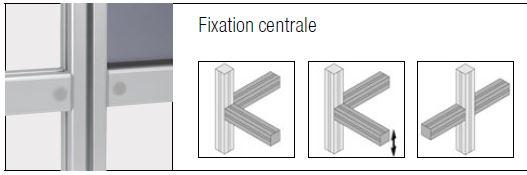 Fixations elcom - fixations centrales