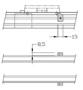 Anti-retours TLM 1500 transfert linéaire modulaire elcom