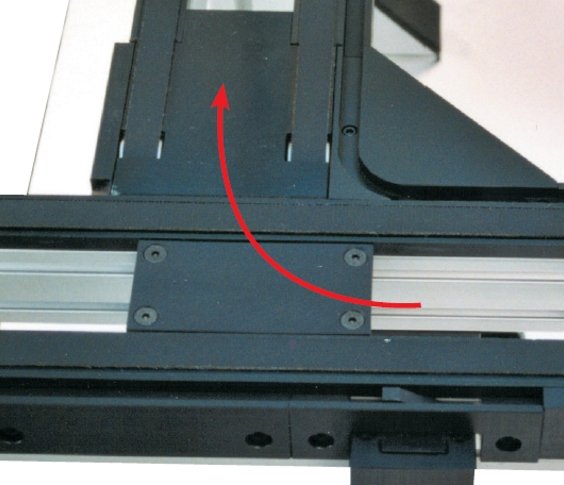 Cames TLM 2000 90° SD transferts linéaires modulaires elcom