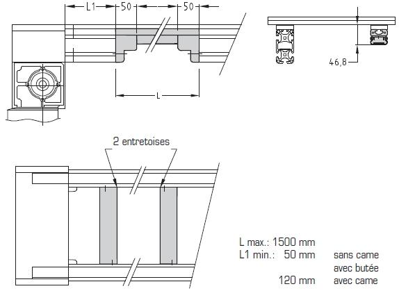 Réductions hauteurs Largeurs 200 - 300 - 400 TLM 2000 elcom