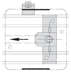 Butées TLM 2000 avec limiteur de choc 200 - 300 - 400 transfert linéaire modulaire elcom