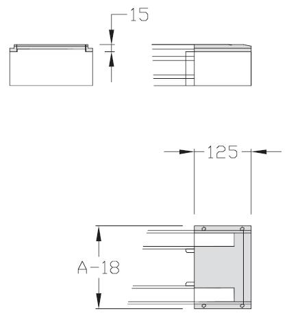 Demi-jonctions TLM 2000 courroie lisse Largeurs 200 - 300 - 400 transferts linéaires modulaires elcom