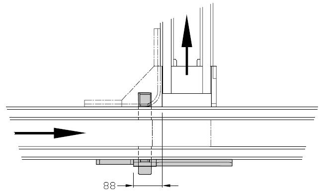 Dérivations TLM 2000 Largeurs 200 - 300 - 400 transferts linéaires modulaires elcom