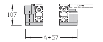 Dérivations TLM 2000 Largeurs 200 - 300 - 400 transfert linéaire modulaire elcom