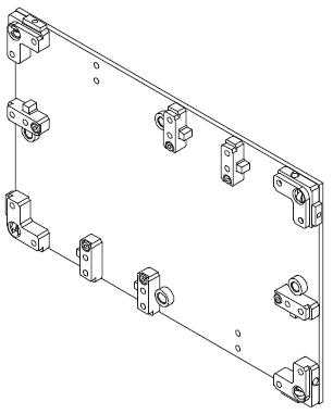 Dessus de palettes TLM 5000 transferts linéaires modulaires elcom