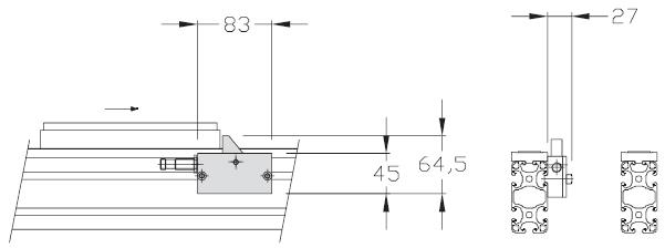 Détecteur de zone TLM 2000 transferts linéaires modulaires elcom