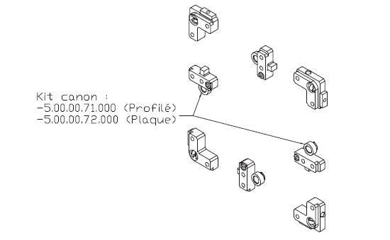 Embase de palettes TLM 5000 transfert linéaire modulaire elcom