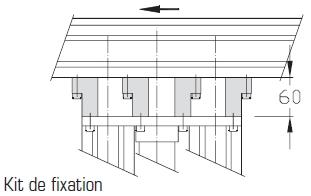 Indexages hauts Largeurs 200 - 300 - 400 transfert linéaire modulaire elcom