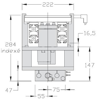 Indexages TLM 2000 multi-positions Largeurs 200 - 300 - 400 transferts linéaires modulaires elcom