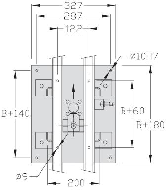 Indexages ponts Largeur 200 transferts linéaires modulaires elcom