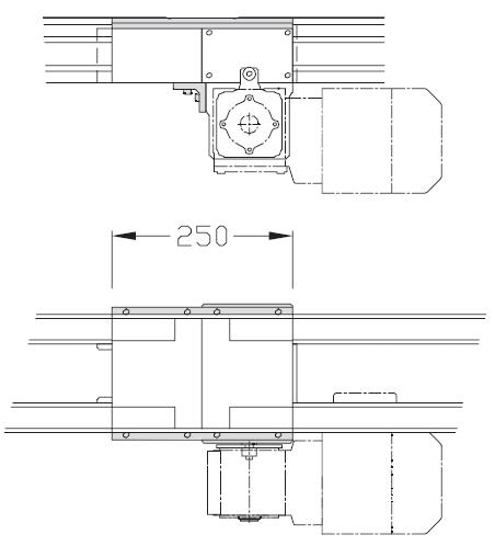 Jonctions TLM 2000 pour entraînement direct transfert linéaire modulaire elcom