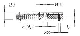 Palettes TLM 2000 M Largeur 200 transfert linéaire modulaire elcom