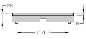 Palettes TLM 2000 U Largeur 200 transfert linéaire modulaire elcom