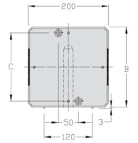 Palettes TLM 2000 U tampons Largeur 200 transfert linéaire modulaire elcom