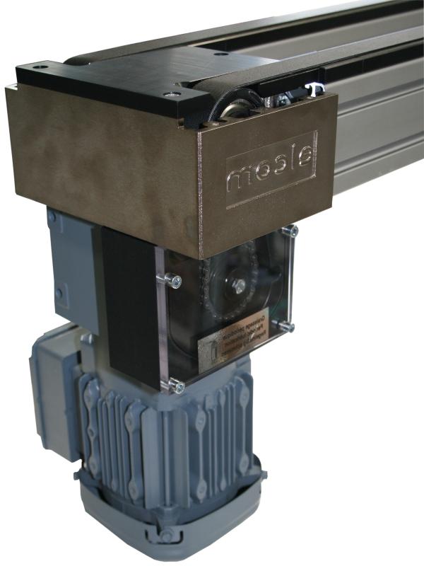Unités de transport moteur poussant TLM 2000 elcom transferts linéaires modulaires