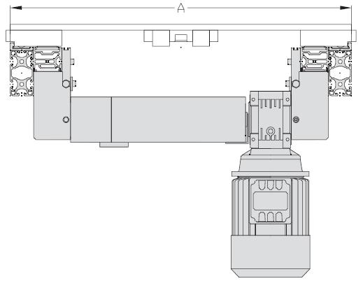 Unités de transport TLM 5000 Largeurs 500 - 600 - 800 - 1000 transfert linéaire modulaire elcom