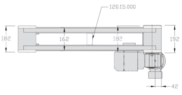 Unités de transport TLM 2000 directes transferts linéaires elcom